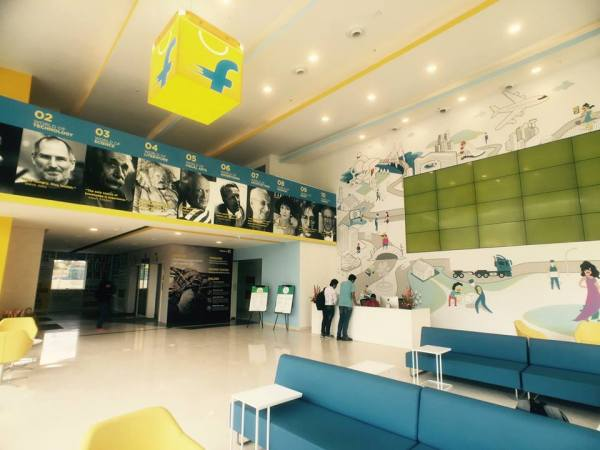 Flipkart's New Sexy Office Will Make You Quit Your Current Job Today!