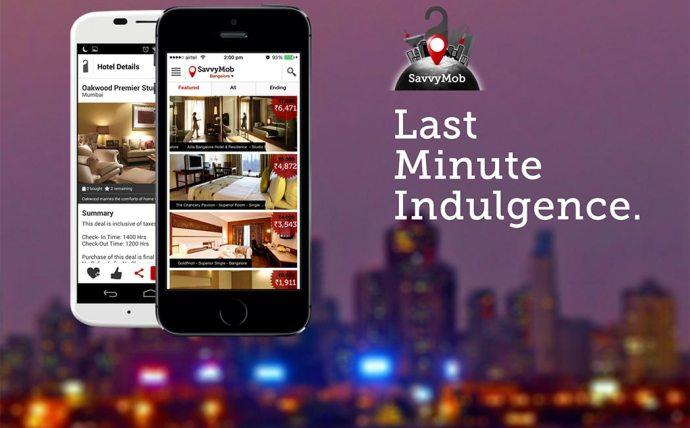Last Minute Hotel Booking App, SavvyMob, Raises $1 Mn From Mohandas Pai & LetsVenture