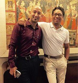 Founder (Right Vishal Jain, Left Deep Bajaj)