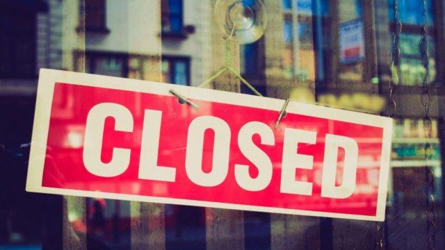closed shutdown startup