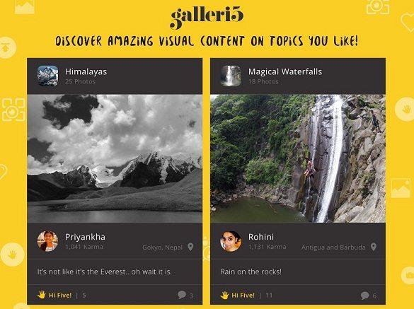 galleri5 Promo Creative