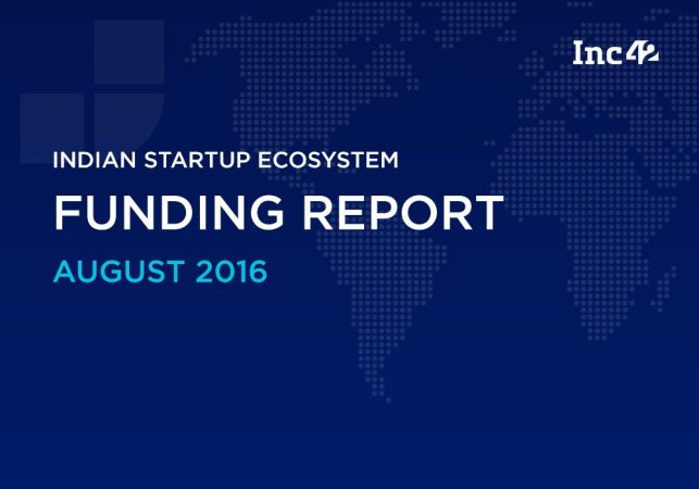 Indian Startup Funding Report August 2016: EdTech On The Rise