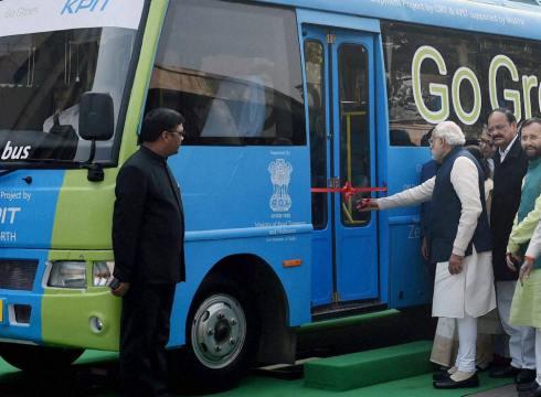 electric-buses-softbank-government