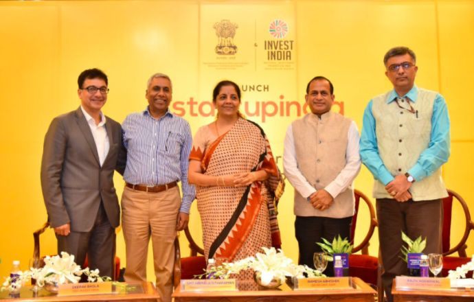 Government Launches Startup India Hub To Bring All The Stakeholders On A Single Platform