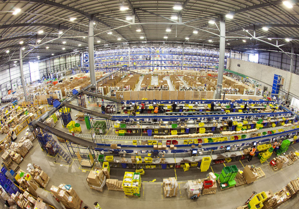 amazon india-fulfilment centre-logistics-ecommerce-haryana