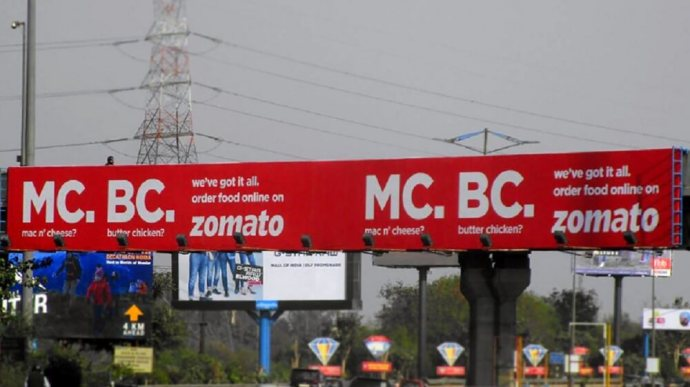 Zomato Apologises For Offensive Outdoor Ad; To Withdraw Soon