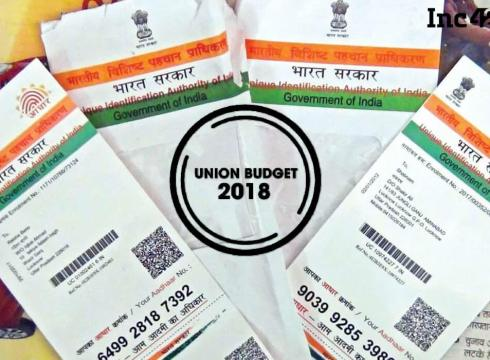 budget 2018-aadhaar-enterprise-unique-identity
