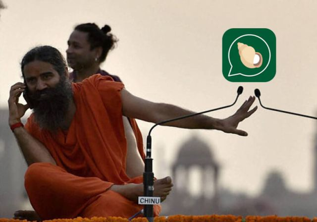 want-to-challenge-whatsapp-with-kimbho-get-your-data-security-in-place-first-patanjali