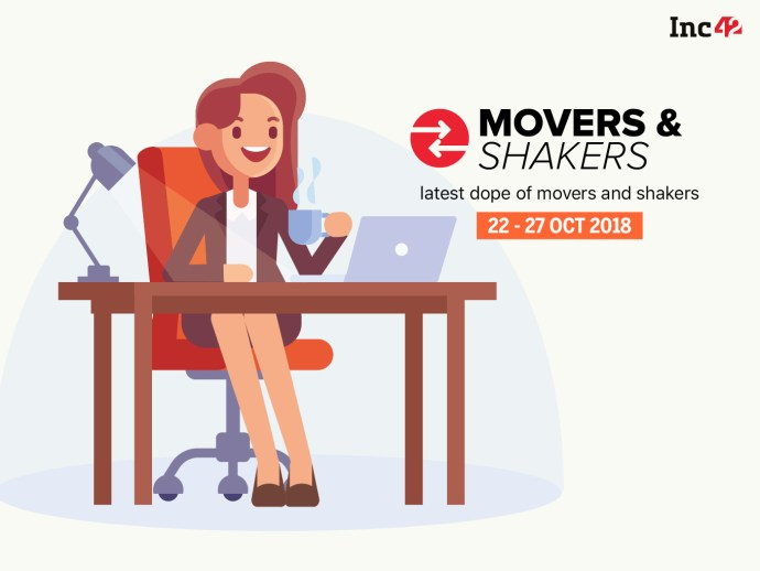 Movers And Shakers Of The Week [22-27 October]