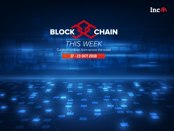 Blockchain This Week: Reliance Receives Its First LC Payment Via Blockchain And More