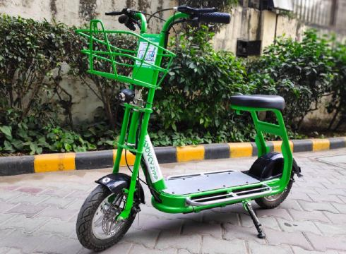 Bicycle Sharing Startup Mobycy Starts Escooter Service In Gurugram
