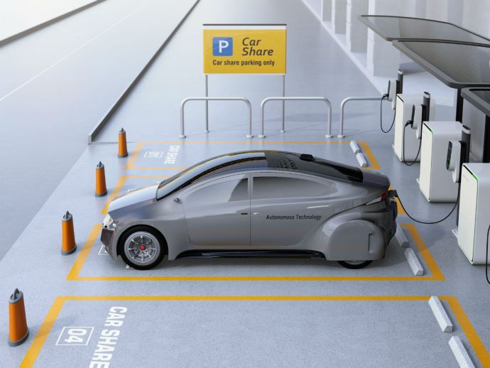 Unlocking The Potential In Self-Driving Car-Rental Model By IoT