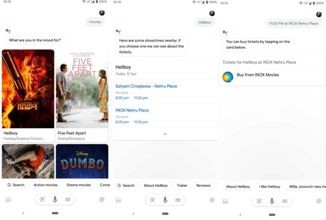 After Flights and Hotels, Google Adds Movie Ticketing Search in India