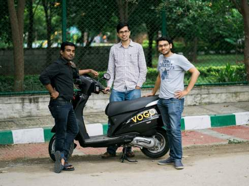 Ex-Myntra CEO Ananth Narayanan Invests In Bike Rental Startup Vogo