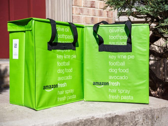 Amazon Fresh - Amazon May Merge Small Delivery Hubs To Scale Grocery Business