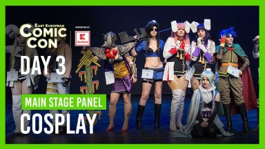 East European Comic Con Day 3 - Main Stage Panel - Cosplay