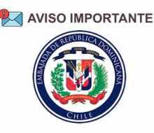 Información Embajada de República Dominicana por vuelos de retorno