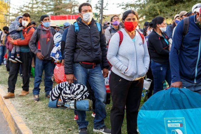 Migrantes se sienten más vulnerados con la pandemia