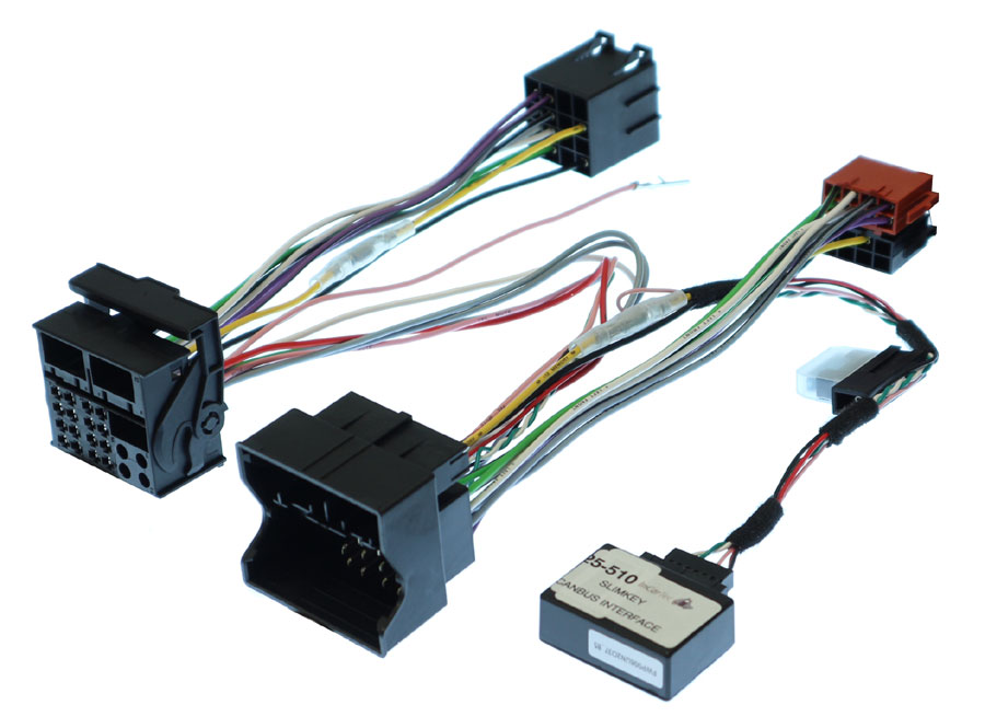 Vw Volkswagen Car Stereo Iso Wiring Lead With Canbus Ignition Supply