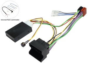 Peugeot Stereo Upgrade parts, Radio replacement kit, Audio fitting kits, Car audio cables