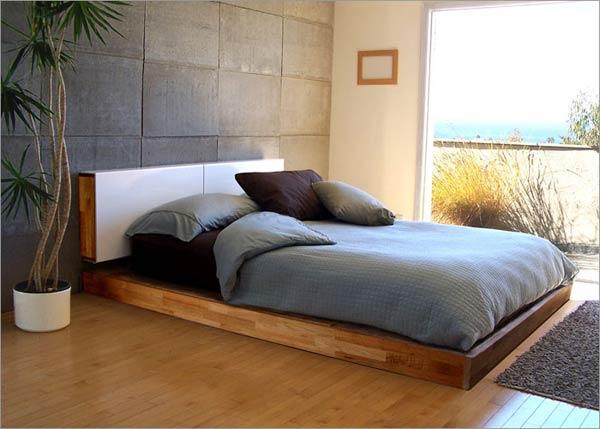 Dormitor modern in stil asiatic