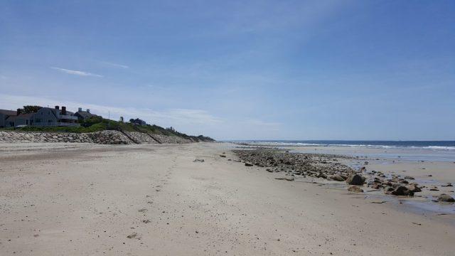verlaten strand Cape Cod