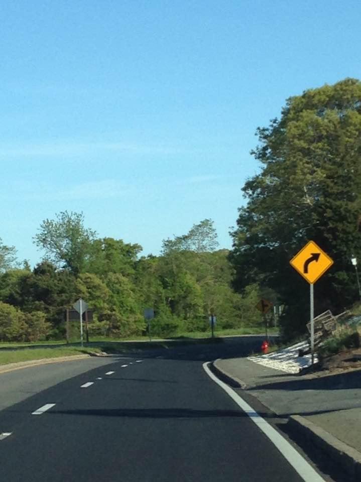 Empty road USA