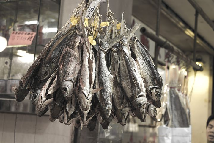 fish on hong kong market