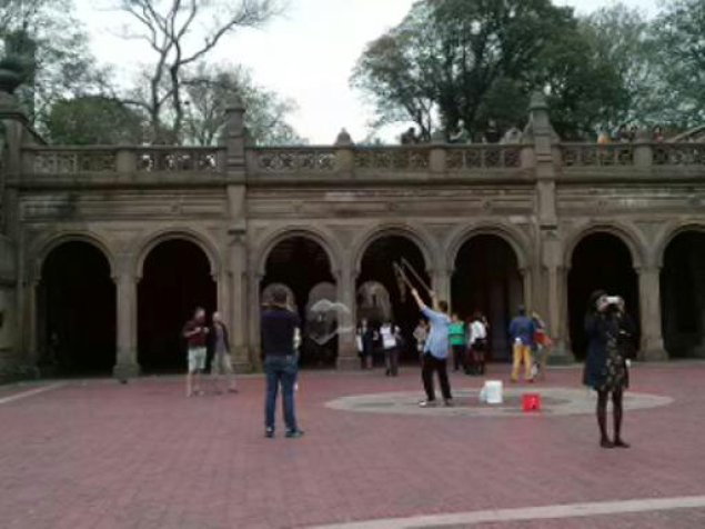 Bethesda Terrace New York