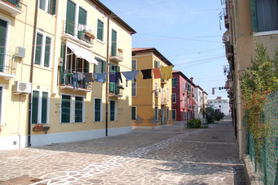 empty street Giudecca