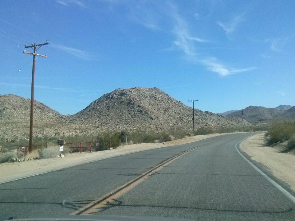 verlaten highway in Amerika