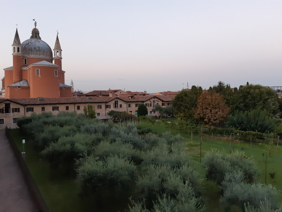 Redentore church and gardens