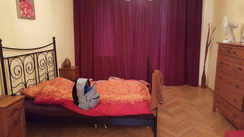 bedroom prague apartment