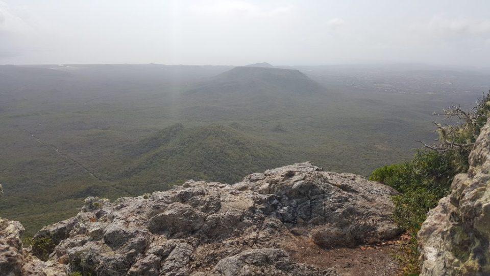 uitzicht cristoffel mountain curacao