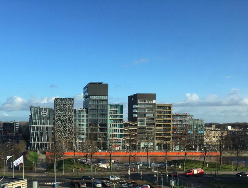 ZIlverparkkade in het stadshart van Lelystad