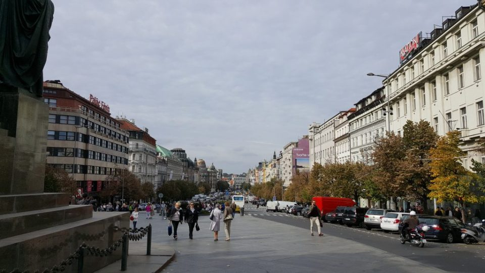 Wenceclas Square in Prague