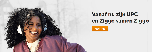 Screenshot Ziggo 13 april 2015