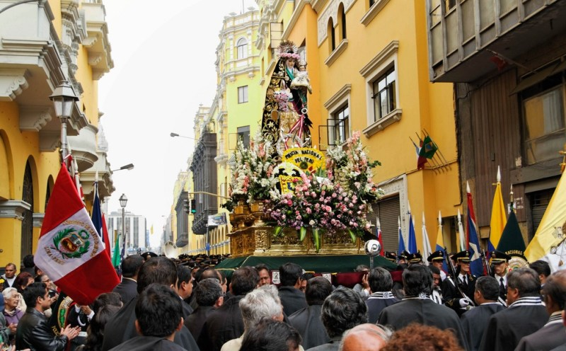 Festivities celebrating Santa Rosa de Lima comprise some of the biggest Peruvian festivals.