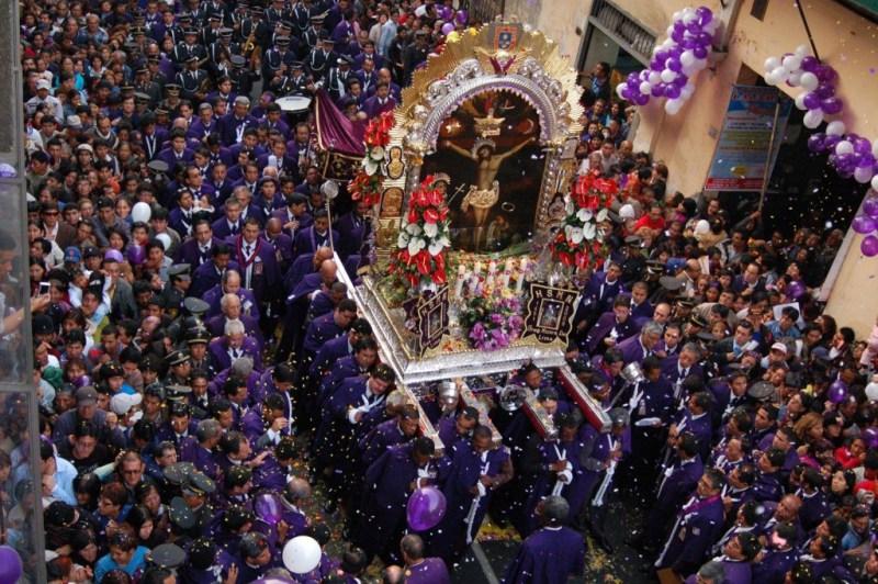 The main Catholic celebration is one of the largest Peruvian festivals.