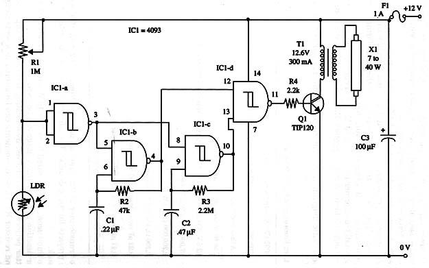photocell circuit diagram 276 1657