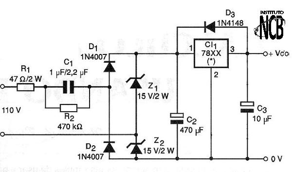 Transformerless Power Supply (ART478E)