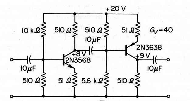 mini bench amplifier circuit