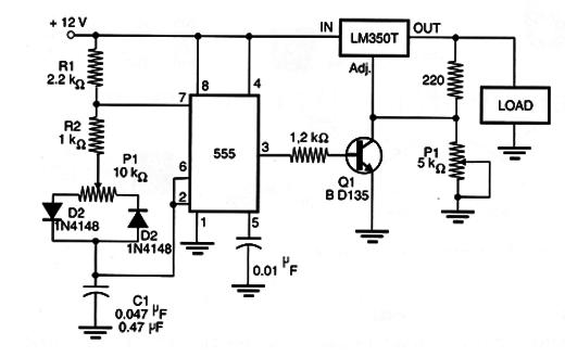 PWM Control Using the LM350 (MEC048E)