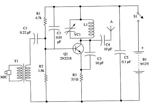 High-Power FM Transmitter (TEL029)