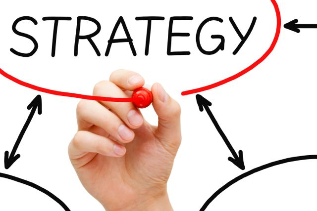 arrows creating a stragegy