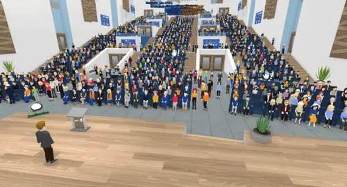 Auditorium virtuel Meeting-Campus