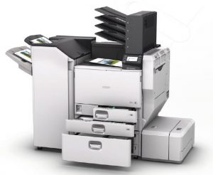 New Ricoh SPC830DN 45 ppm A3 colour printer from Inception.co.uk Swindon, suppliers of Printers, Copiers and supplies Tel: 01793 831113