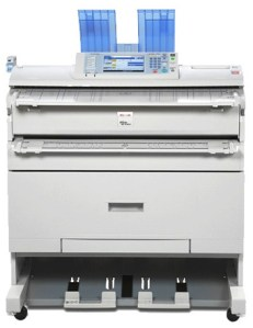 Ricoh MPW3601 Mono Wide Format Device available from Inception Business Technology, Swindon suppliers of printers, copiers and consumables