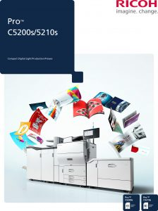 Ricoh Pro C5210s colour brochure