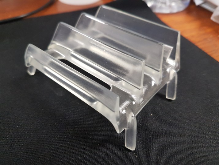 3D Printed Clear Parts